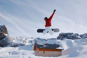wyjazd na deskę i na narty do Włoch